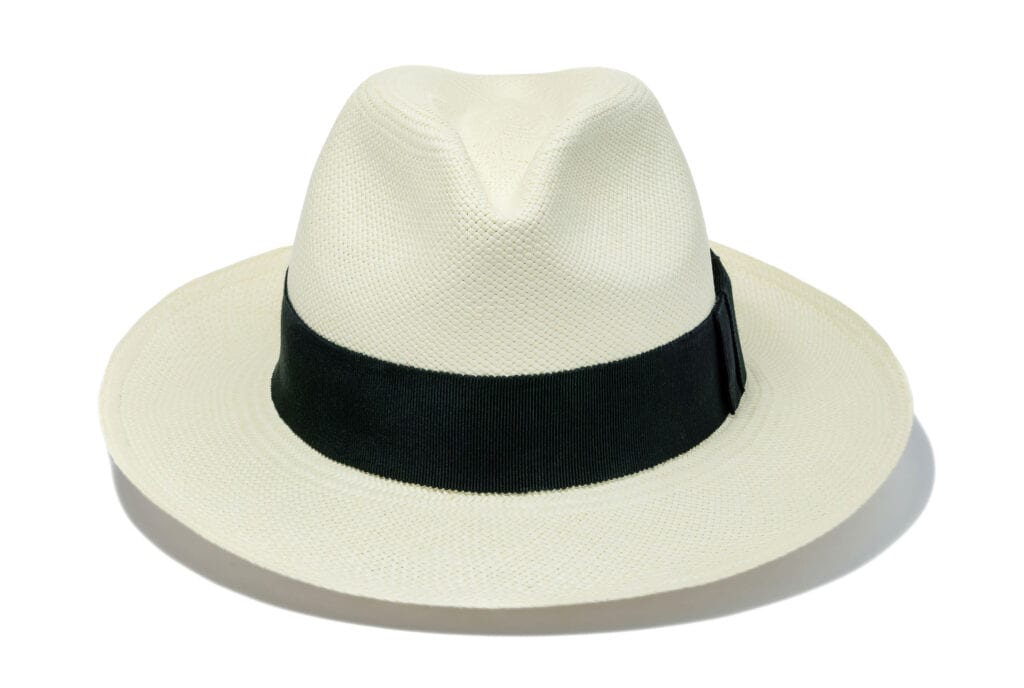 A_staple_fedora_hat_long_lasting_straw_hat