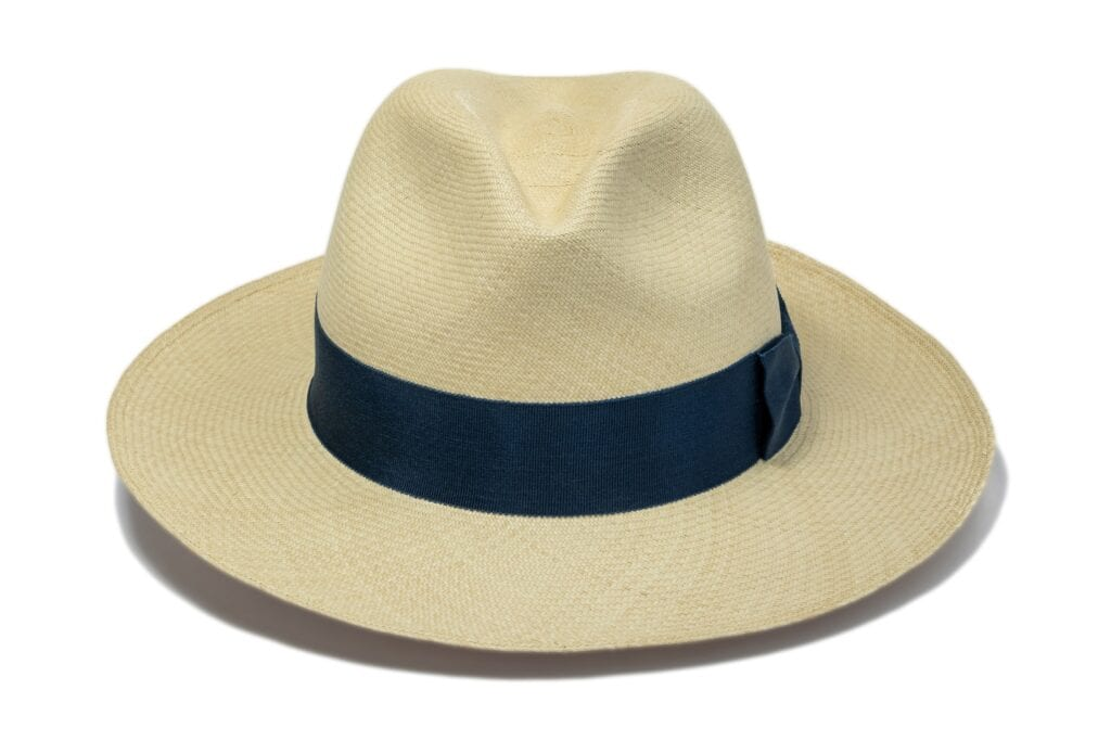 Fine_weave_straw_sun_hat_with_blue_ribbon