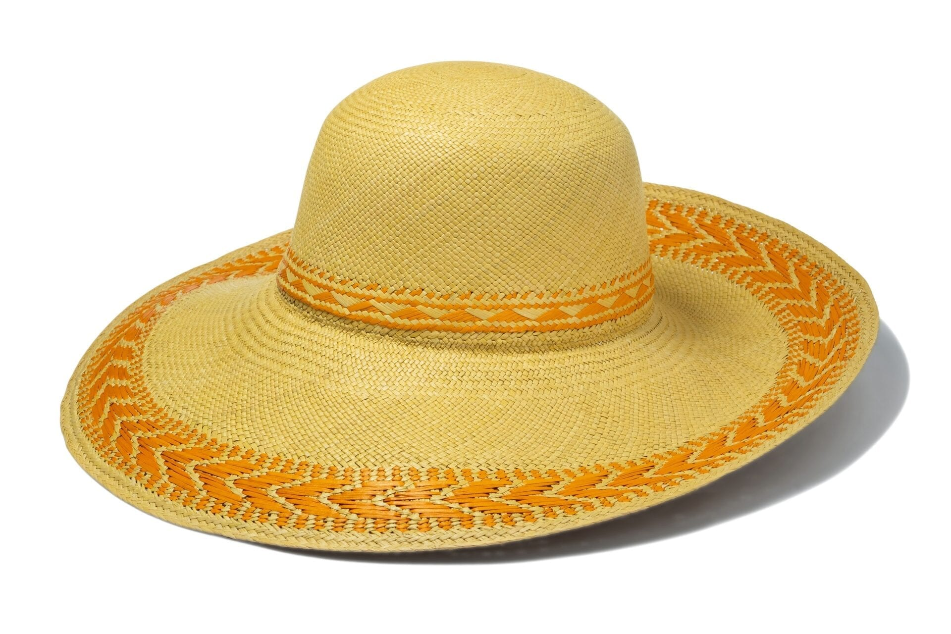 Womens_handwoven_orange_sun_hat