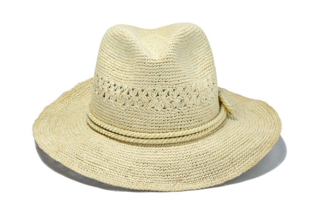 Crochet_weave_panama_hat_rollable_for_travel