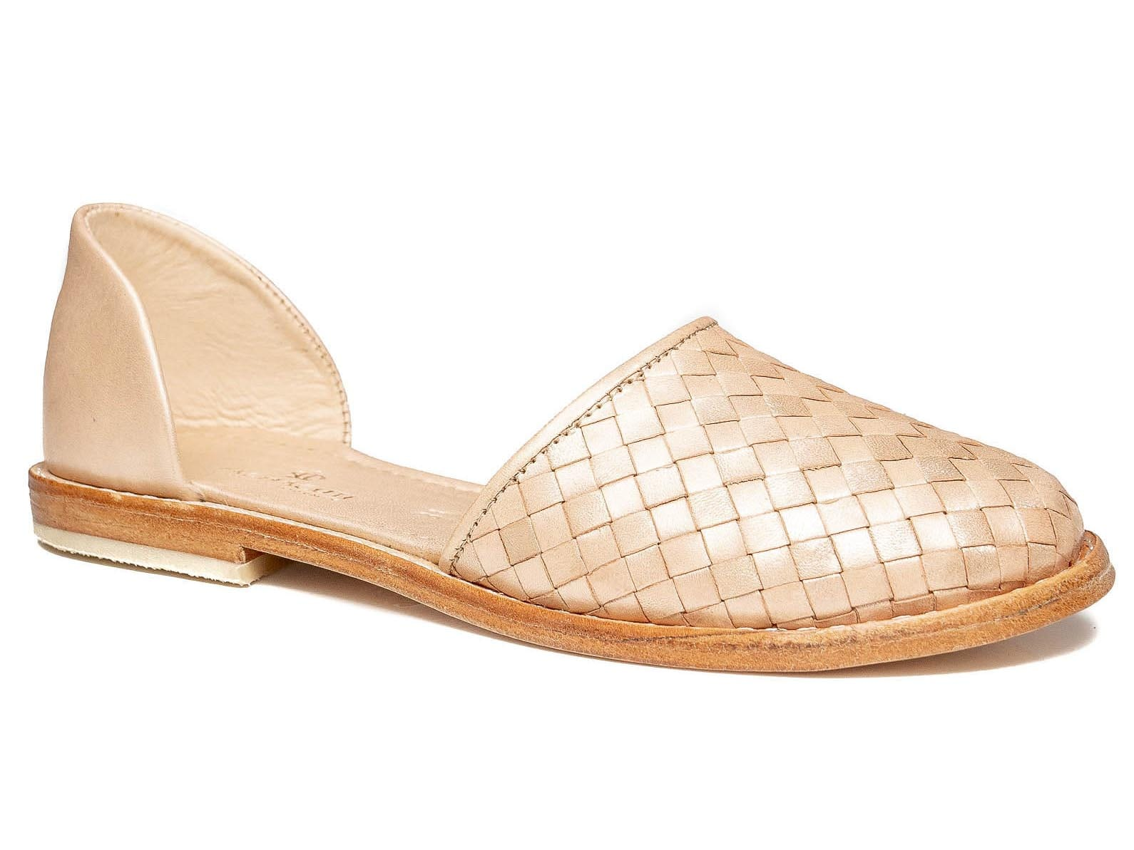 Audrey Flats Rose Gold