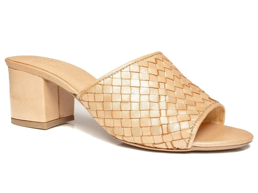 Bella Mules Rose Gold
