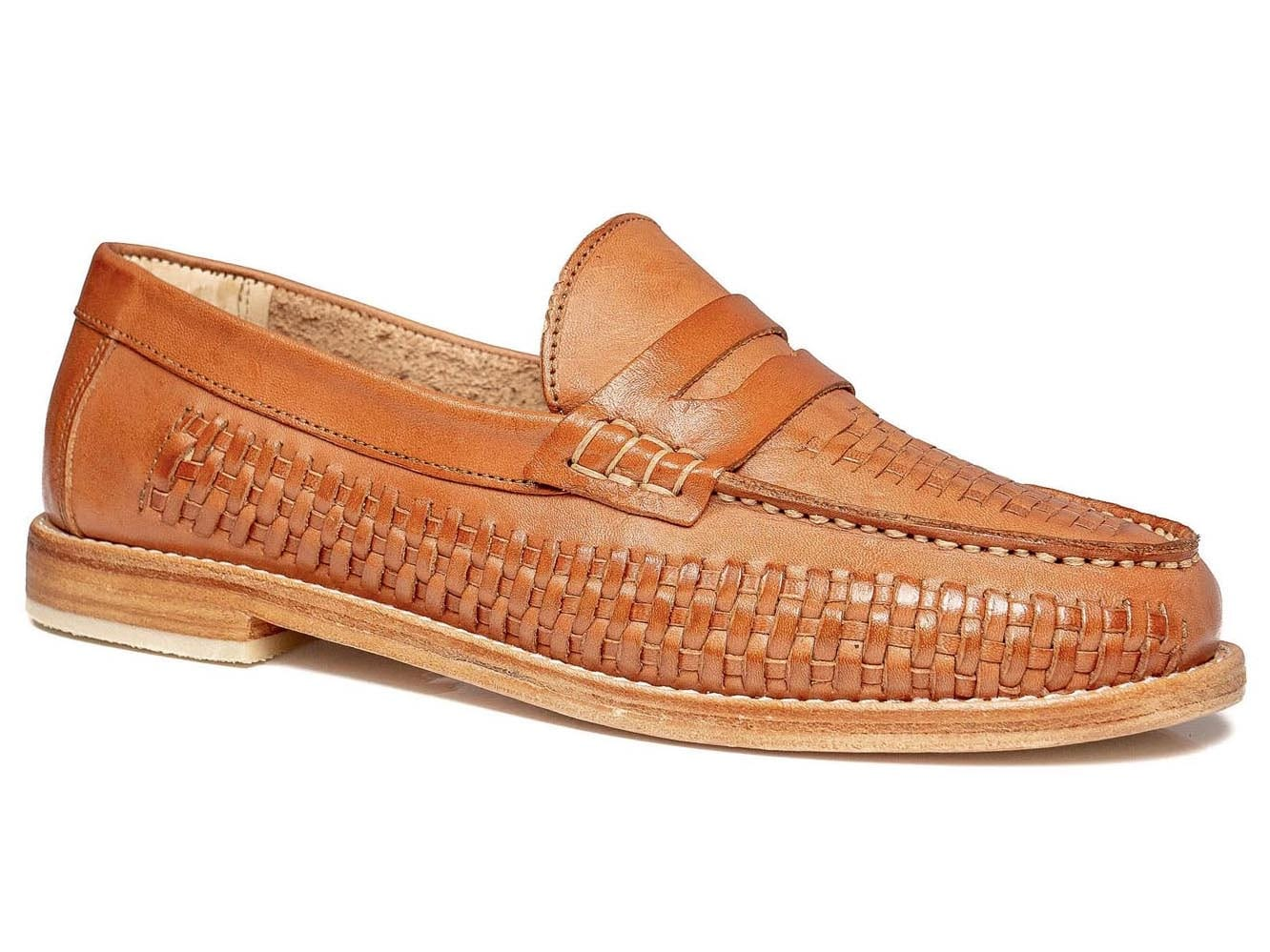 Bertie Penny Loafer Brown