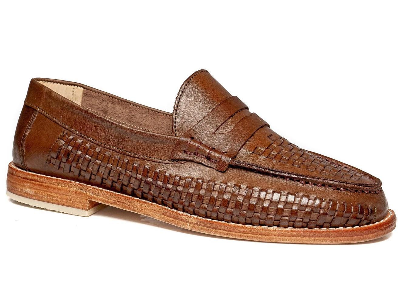 Bertie Penny Loafer Walnut