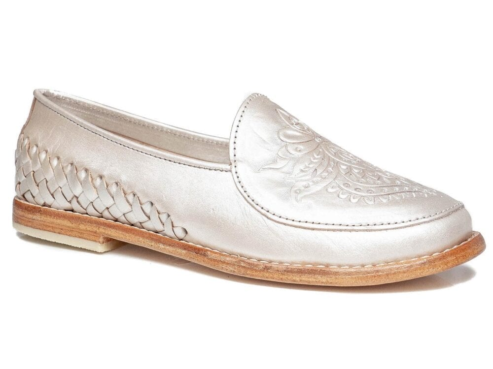 Frida Loafer Pearl